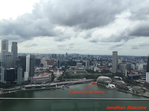 Must Visit Place in Singapore jilaxzone.com Esplanade Durian Building See from Marina Bay Sands