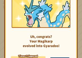 Pokemon Magikarp Jump Unlock Gyarados jilaxzone.com get Gyarados