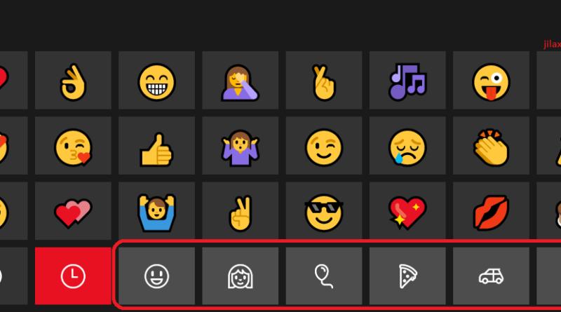 Enable Emoji on Windows 10 jilaxzone.com Emoji Keyboard