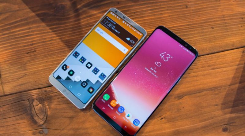 2018 smartphones trends jilaxzone.com Samsung S8 and LG G6