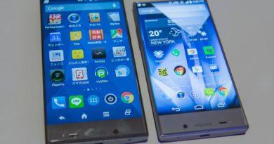 2018 smartphones trends jilaxzone.com Sharp Aquos