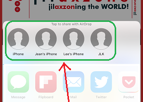 iOS 11 AirDrop jilaxzone.com vulnerable iPhone users