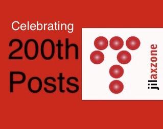 Jilaxzone.com 200th post celebrating