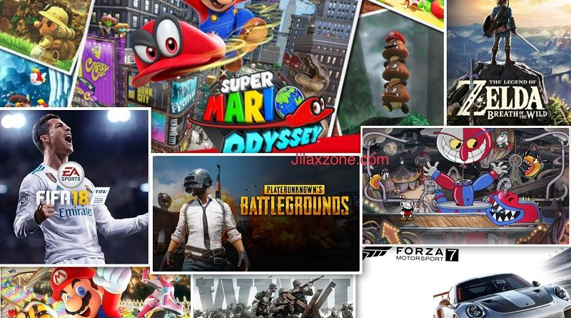 Famous consoles games and comparable games on mobile jilaxzone.com