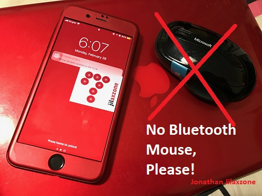 iOS bluetooth mouse support jilaxzone.com