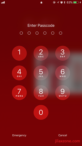 iOS iPhone Security jilaxzone.com Enable Passcode