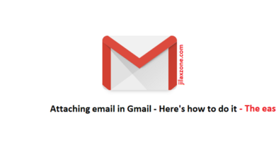 Attaching email in gmail jilaxzone.com the easy way