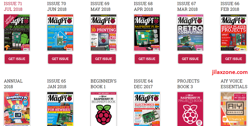 Download MagPi - The Official Raspberry Pi Magazine for FREE