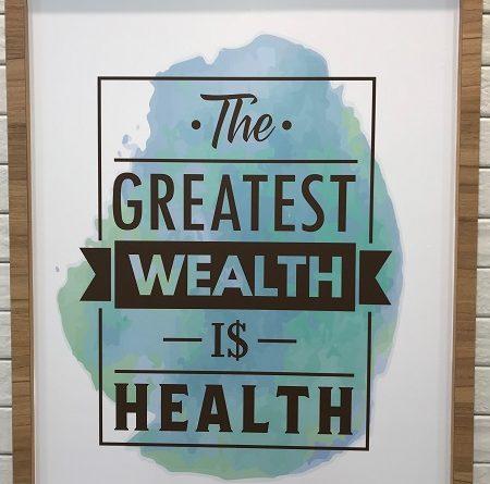 BMI the greatest wealth is health jilaxzone.com