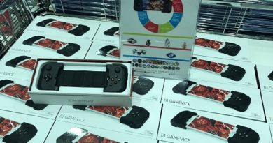 Comex 2018 jilaxzone.com iPhone bluetooth controller