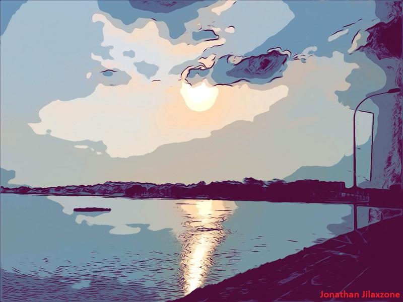 iOS 12 Comic Camera Filter jilaxzone.com bright sunny day