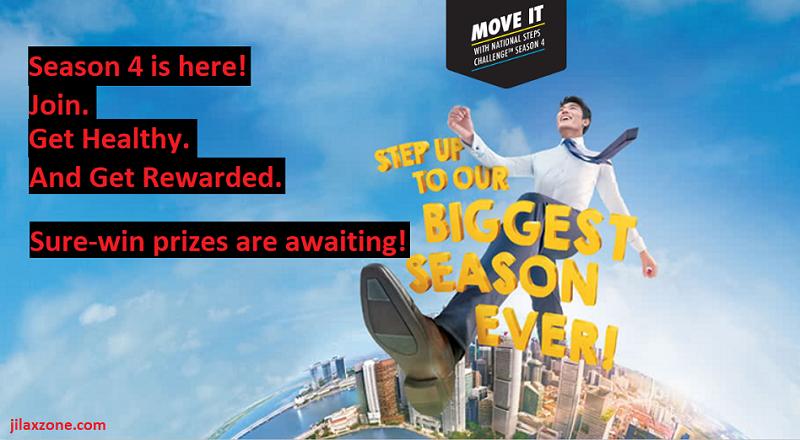 singapore national steps challenge season 4 logo jilaxzone.com