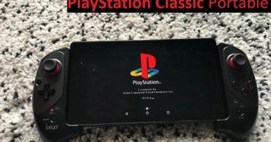 DIY PlayStation Classic Portable jilaxzone.com