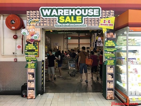 Giant Tampines Warehouse Sale November 2018 jilaxzone.com