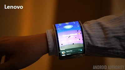 Lenovo Foldable Smartphone a wrist phone jilaxzone.com
