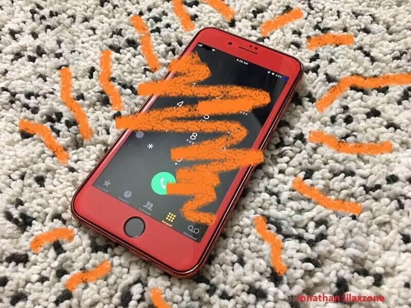 phone caught on fire jilaxzone.com