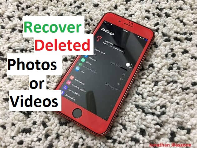 Easily recover deleted photos and videos on iPhone
