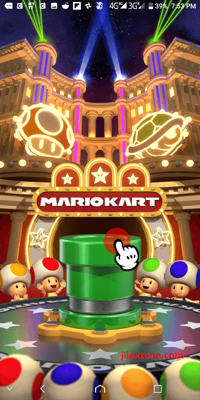 mario kart tour jilaxzone.com fire off pipe new character