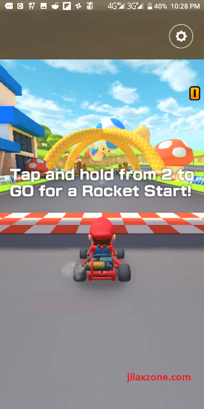 mario kart tour jilaxzone.com rocket start