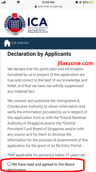 REP renewal declaration jilaxzone.com