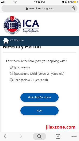 renew REP for spouse and family jilaxzone.com