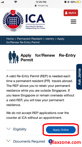 renew REP online SPR jilaxzone.com