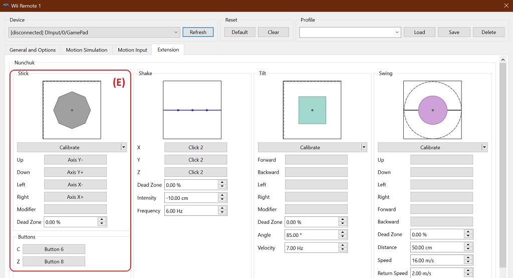 Dolphin emulator wii nunchuck setup configuration jilaxzone.com
