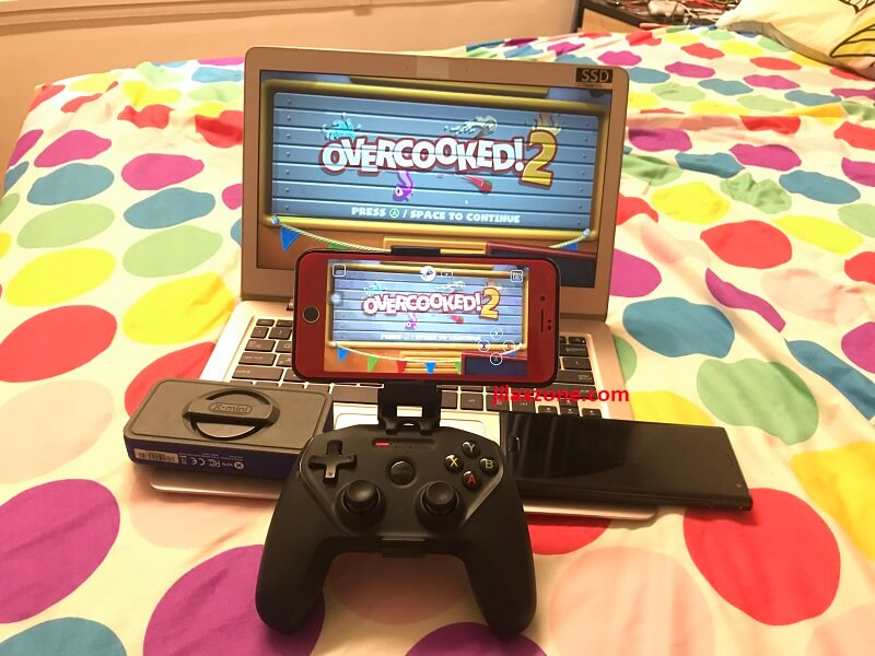 Stream game using Steam Link Anywhere Overcooked 2 on Android and iPhone jilaxzone.com