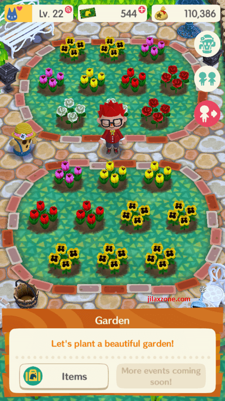 animal crossing garden and flowers jilaxzone.com
