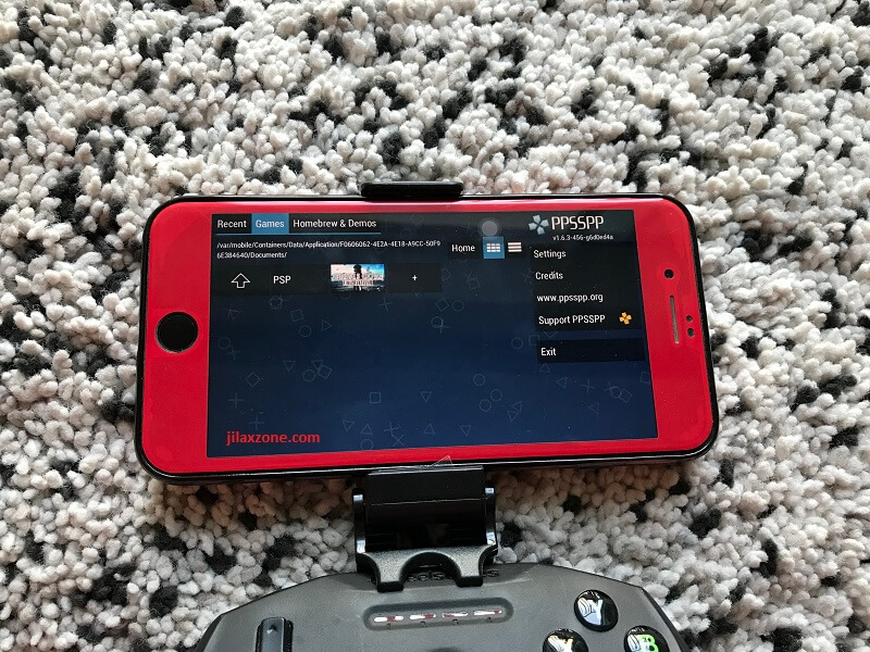 install ppsspp on iOS iPhone jilaxzone.com