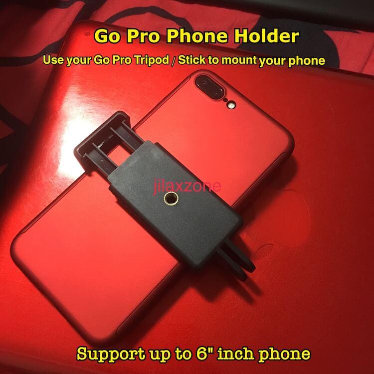 gopro tripod for smartphone jilaxzone.com