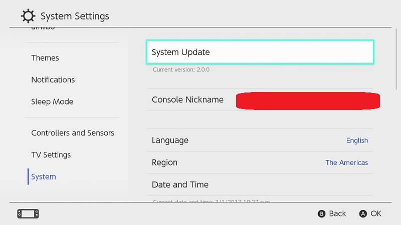 how to update nintendo switch firmware jilaxzone.com
