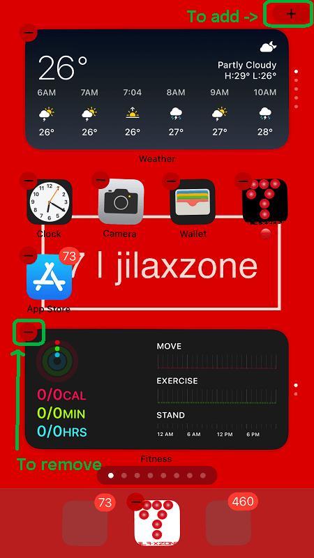 ios 14 how to add widget on iphone jilaxzone.com