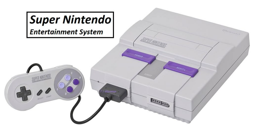 SNES Super Nintendo Console image jilaxzone.com