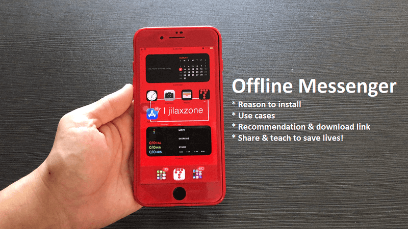 recommended offline messenger android ios jilaxzone.com