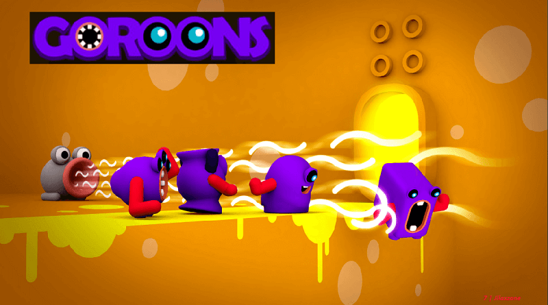 goroons adventure puzzle multiplayer game jlaxzone.com