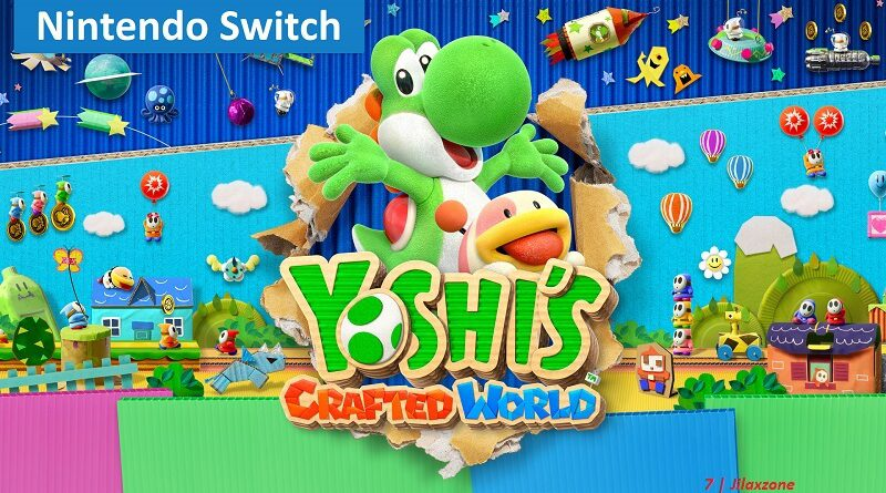 Nintendo Switch Recommended multiplayer game Yoshis Crafted World jilaxzone.com