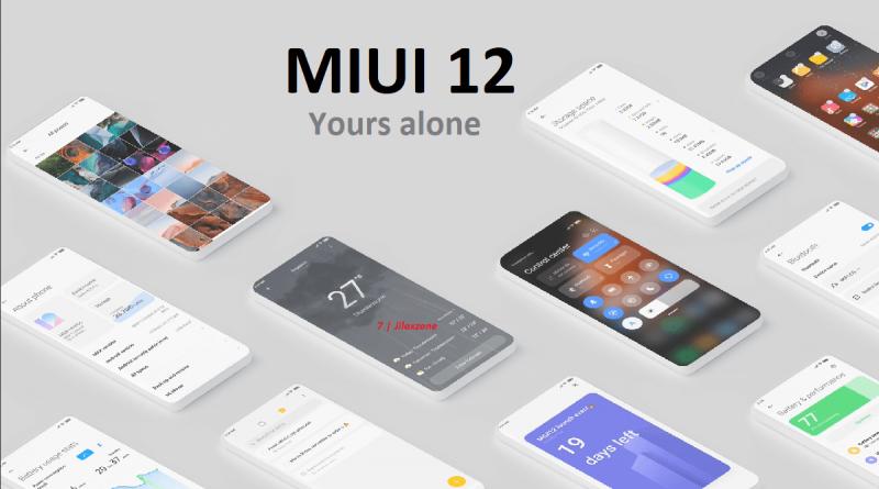 xiaomi miui 12 yours alone logo jilaxzone.com