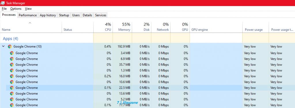 google chrome after reduce memory jilaxzone.com