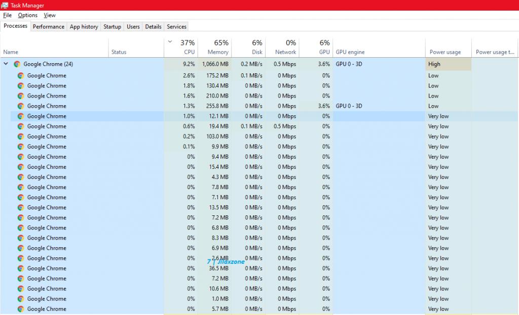 google chrome before reduce memory jilaxzone.com