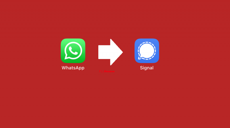 moving from whatsapp to signal jilaxzone.com