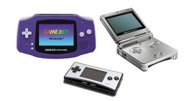 Game Boy Advance GBA family jilaxzone.com