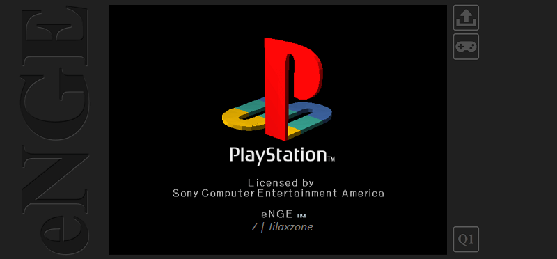 enge playstation javascript emulator browser jilaxzone.com