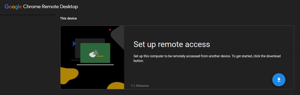 google chrome remote desktop setup remote access jilaxzone.com