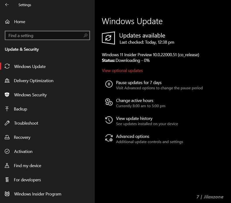 downloading Windows 11 insider jilaxzone.com