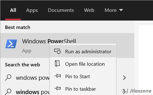 windows powershell run as administrator jilaxzone.com