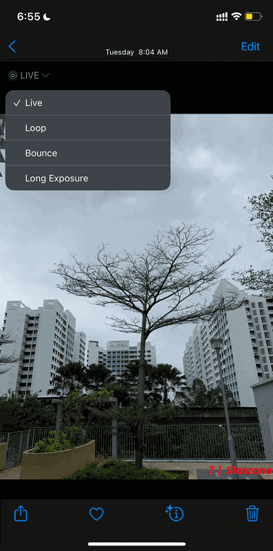 loop bounce long exposure live photo effects ios 15 jilaxzone.com