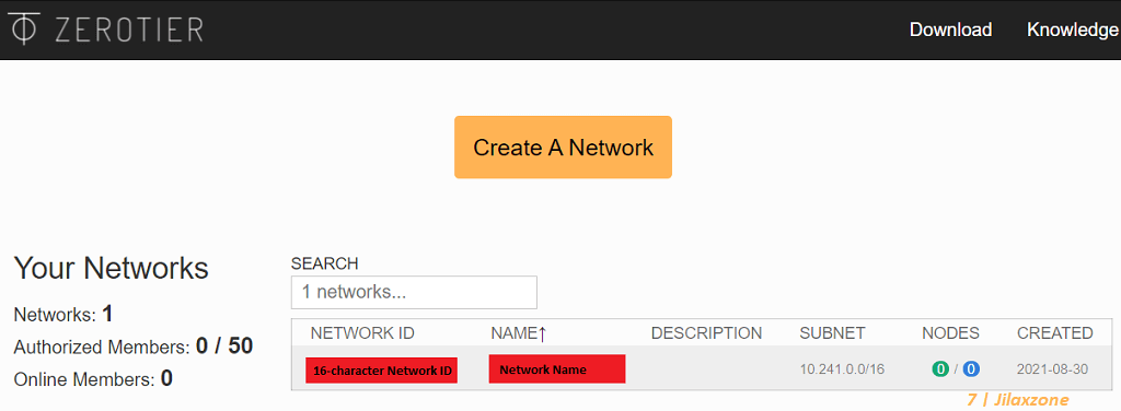 zerotier p2p setup network jilaxzone.com
